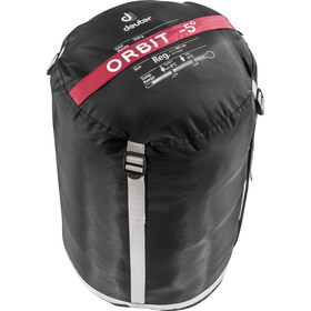 Deuter Orbit -5° Sacos de dormir Normal, cranberry-steel